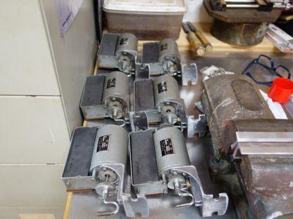Zu überarbeitende Schleifenzugmotoren